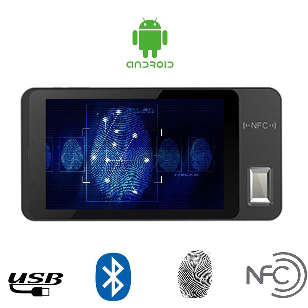 Tablette Portable d'empreinte digitale d'android 5.1 de 7 pouces avec le lecteur de carte de NFC-in Adaptateurs AC / DC from Electronique    1