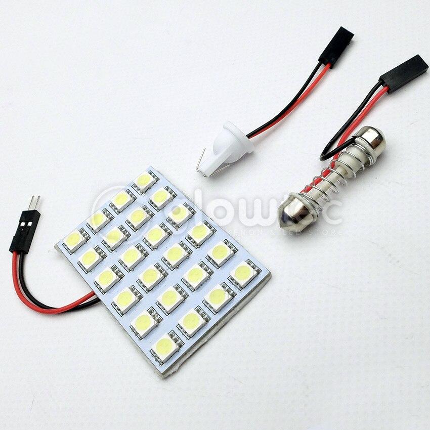 Kebedemm 36 Led Cob Chip Auto Auto Innen Licht Panel Lesen Karte Birne Lampe Ba9s Girlande Dome Adapter 12 V Licht & Beleuchtung
