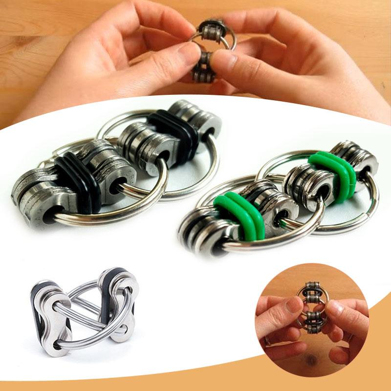Stress Funny Toy For Better Focus Reduce Stress Spinner Keyring Toys