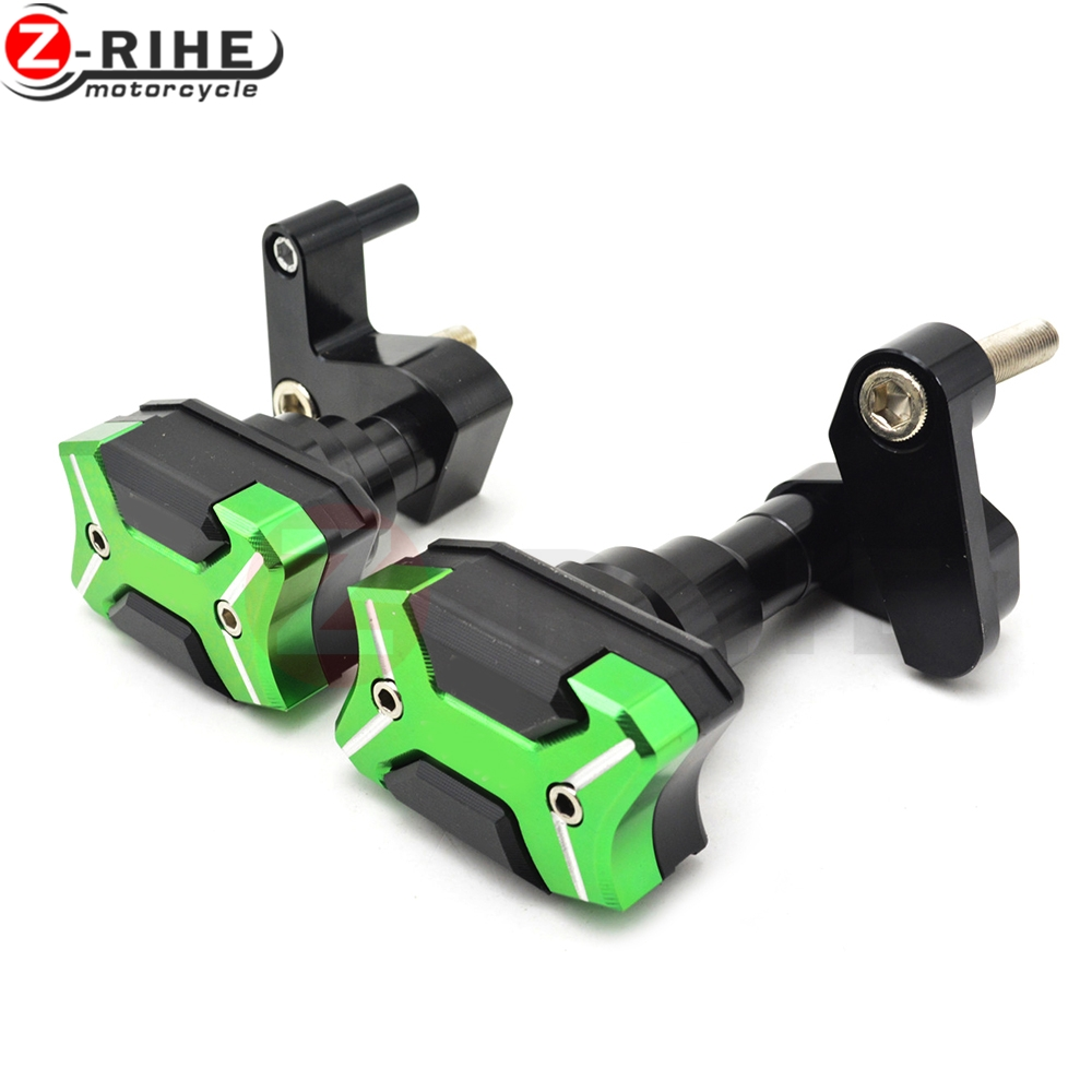 Motorcycle accessories Pads Engine Engine Cover Frame Sliders Crash Protector For Kawasaki Ninja ZX10R ZX 10R 2008 2009 2010 10