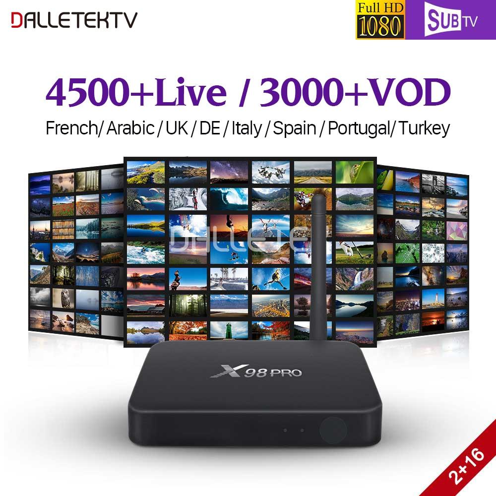 все цены на Full HD France IPTV Box X98P SUBTV IPTV Subscription Android 6.0 TV Receivers IPTV France Arabic Portugal Turkey Poland Canada онлайн