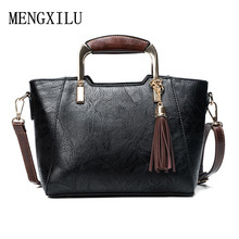 Women Handbag Female Small Luxury PU Leather Bags Tassel Handbags Portable Shoulder Messenger Bag Office Ladies Totes
