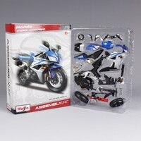 Maisto 1:12 CBR600RR motorcycle diecast metal model kits for honda assemble motorcycle diecast blue motorbike model 39154