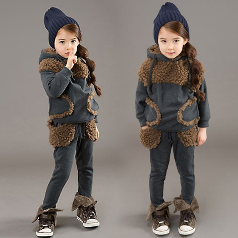 JENYA 2017 autumn&winter new children clothing set girl baby cotton casual patchwork velvet thickened outwear & coat 2 pcs sets hdx lzd 603b e14 4w 12lm 3500k warm white light 32 led candle light bulb golden