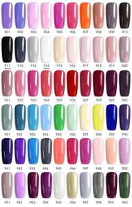 Image 5 - Venalisa 2020 New nail polish gel kit led nail lamp manicure base coat topcoat 7.5ml color gel polish full set