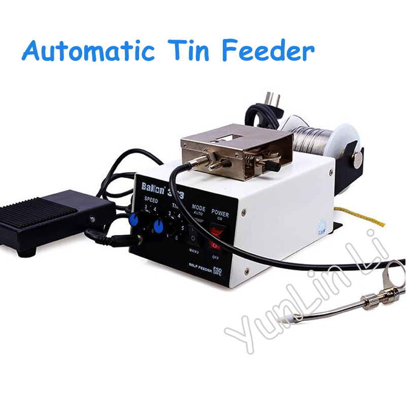 цена Automatic Tin Feeder Full automatic tin machine Automatic Tin Wire Machine Solder Wire Feeder Suitable for Soldering Iron
