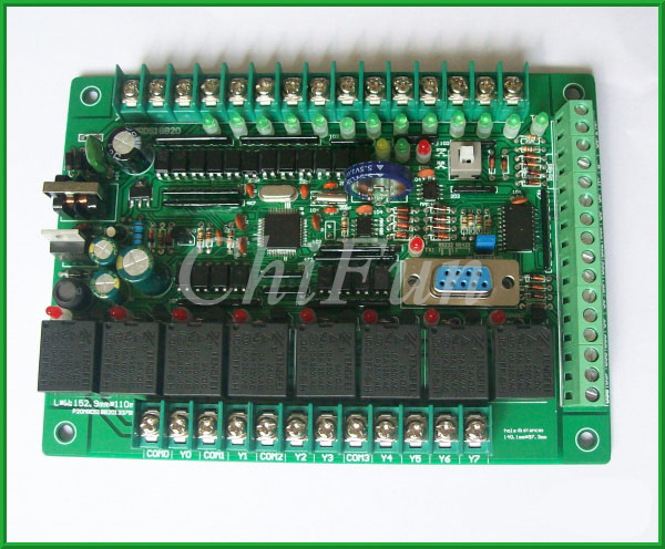 PLC industrial control board temperature controller DS18B20 programmable controller PLC controller