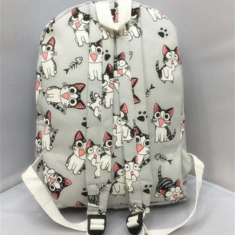 Anime Cat Sweet Schoolbag