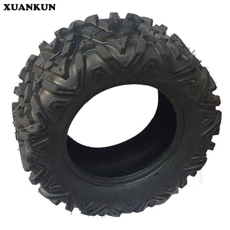 XUANKUN Karting ATV 14 Inch Tire A Word Pattern 26X11-14 Inch Tire Wheel Wear High Wear