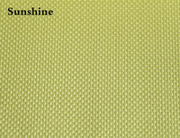 Aramid Fiber Cloth Plain Weave Fabric 400gsm 0.4 Thickness Yellow Cloth For Bulletproof Products High Strength