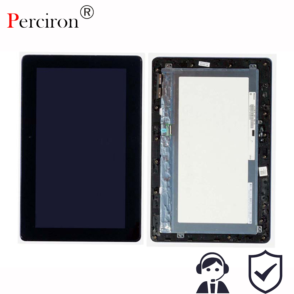 New 10.1 inch For Asus Transformer Pad T100 T100TA 5490NB LCD Display Monitor + Touch Panel Screen digitizer Assembly with Frame used parts lcd display monitor touch screen panel digitizer assembly frame for asus memo pad smart me301 me301t k001 tf301t