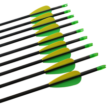 """Free shipping 12 pcs/lot carbon arrow ID 4.2mm shaft length 30"""" spine 700 bullet point shoot archery bow outdoor"""