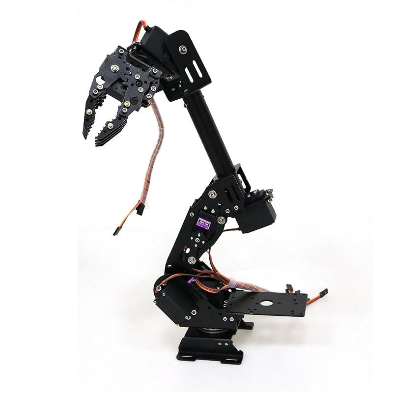 DoArm S8 8DoF алюминиевый сплав металлическая рука робота/ручной Роботизированный манипулятор ABB Arm модель коготь для Arduino WiFi комплект