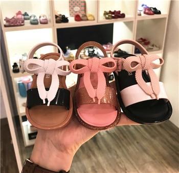 e072ab6bb Sandalias para chicas de melisa zapatos 2019 nuevo estilo de verano Zapatos  de gelatina para niñas Sandalia de playa para niños