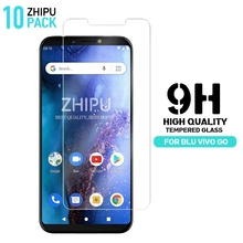 10 Pcs Tempered Glass For BLU Vivo Go Screen Protector 2.5D 9H Premium Protective Film