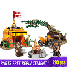 XINGBAO 15001 New Genuine 283Pcs Jungle Tribe Man vs. Wild Model Set Building Blocks Bricks Toys As Funny Boy Gifts With LEGOED(China)