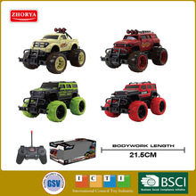 1:20 ScaleHot Sales big wheel 4CH radio remote control Off-road vehicle 27Mhz outdoor rc toys for kids gifts