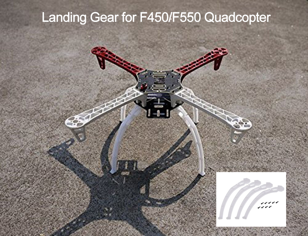 High Landing Gear Kit Height Extender Leg For DJI F450 F550 Drone Frame Kit DIY FPV Quadcopter Landing Gear Skid Wheels Tripod