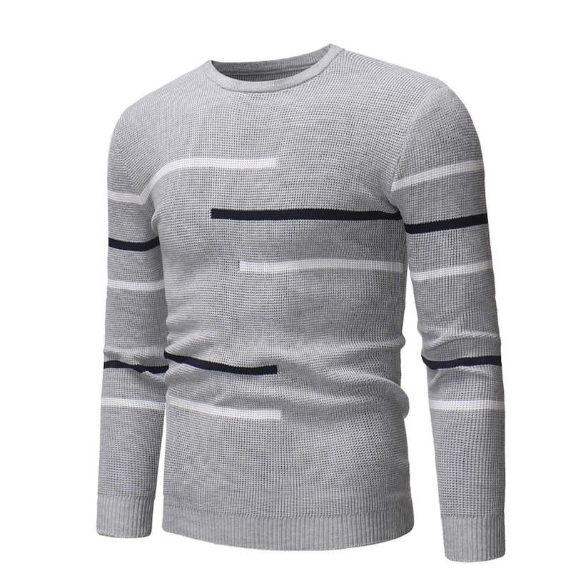 100% Wahr 2019 Neue Männer Slim Fit Marke Gestrickte Pullover Herbst Winter Herren-pullover Herrenrollkragen Einfarbig Casual Pullover M-xxxl
