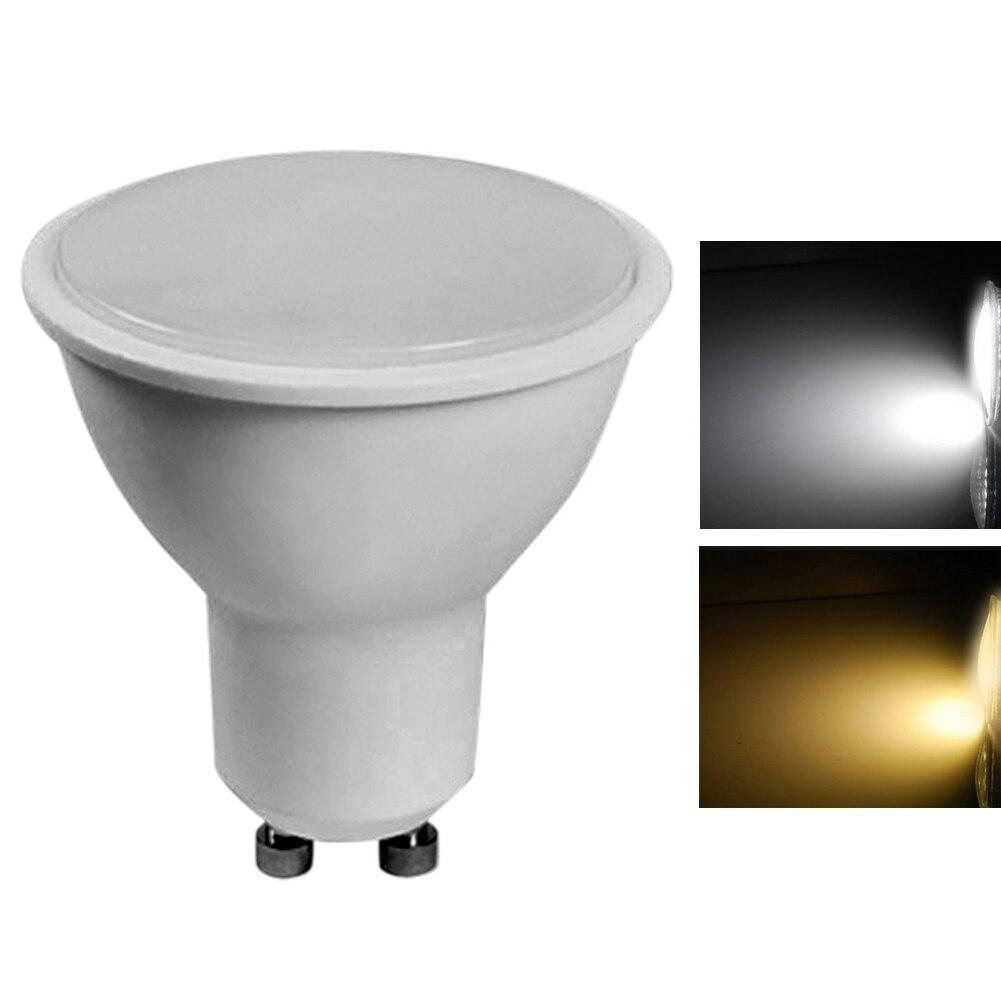 Super Bright 220V GU10 5W LED Warm White / Cold White Energy Saving Spotlight Light Lamp Bulb Shopping Mall Hotel energy saving daylight 80% 15w e26 e27 led bulb white warm light ultra bright