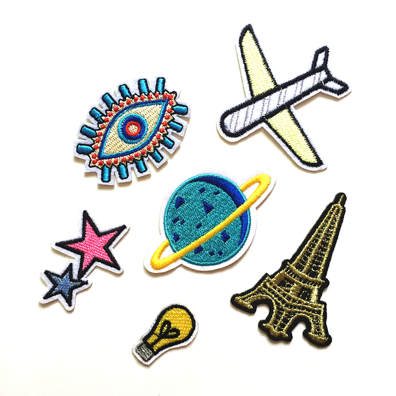 2018 new Embroidery High-end cloth stickers DIY Children