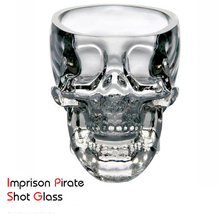 Creative Crystal Skull Cup Vodka Glass Skull Wine Glass Bar KTV Christmas Holiday