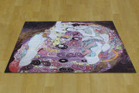 Klimt Adele Famous Painting Virgin Exquisite Home Textile Decorative Products Art Tapestry Wall Hanging 100 Cotton