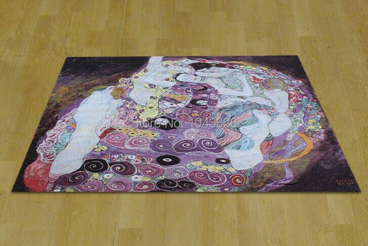 Klimt Adele berühmte malerei reines Exquisite home textile dekorative produkt Kunst wandbehang tapisserie PT 25 - 2