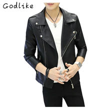 GODLIKE  2017 autumn and winter new men's clothing han edition jacket, men's slim fashion jacket, business casual coat