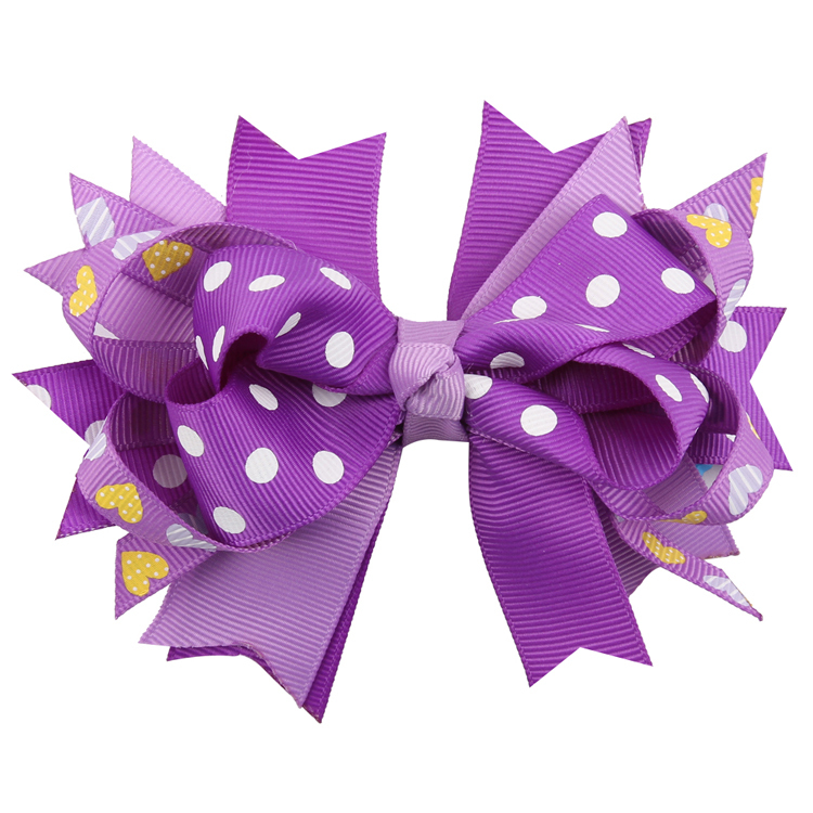 TWDVS COOL Kids Hair Clip Flower Hair Accessories Bow Knot hairgrip - Apparel Accessories - Photo 4