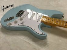 Electric guitar/Gwarem st guitar/blue sky color/guitar in china