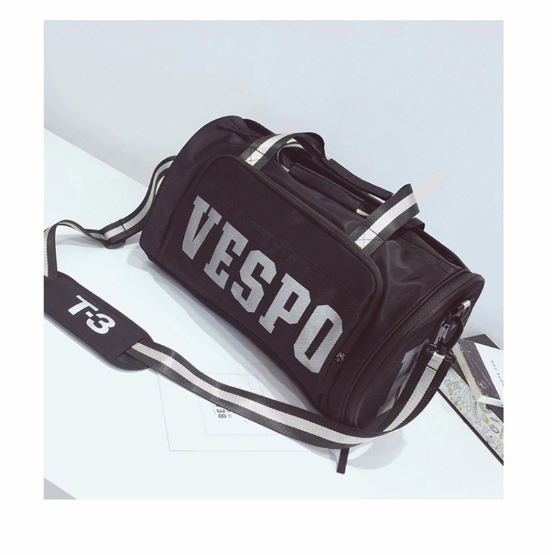 Fashion letter new unisex short-distance large-capacity multi-function travel bag swimming bag