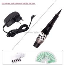 CHUSE s K03 Permanent Makeup Tattoo Machine Gun, Eyebrow Rotary Tattoo Machine Kits For Microblading Tattoo Machine