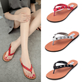 2017 Los últimos modelos de Liu Ding pin sandalias zapatillas sandalias de Playa suave al final de la moda de las mujeres sandalias