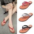 2017 Os mais recentes modelos da Liu Ding pin sandálias chinelos de Praia sandálias macias no final de moda das mulheres sandálias