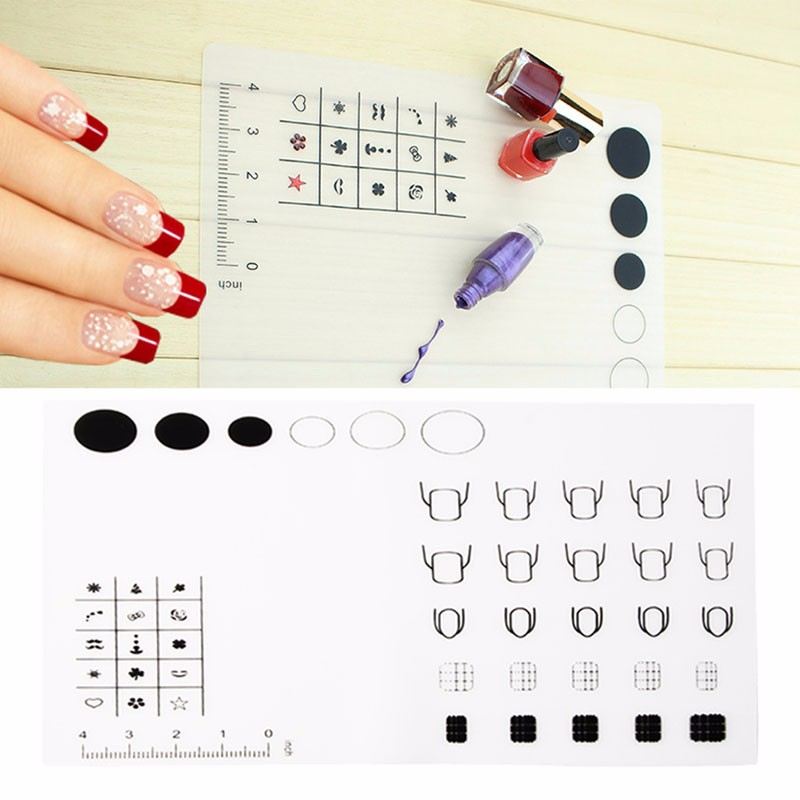 1pc silicone nail art stamp mat decal maker diy reverse stamping 1pc silicone nail art stamp mat decal maker diy reverse stamping manicure new in nail art equipment from beauty health on aliexpress alibaba group prinsesfo Image collections