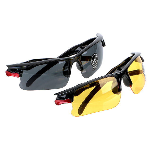 b9e554de28d Night Vision Drivers GogglesProtective Gears Sunglasses Anti Glare Driving Glasses  Night-Vision Glasses Car Styling