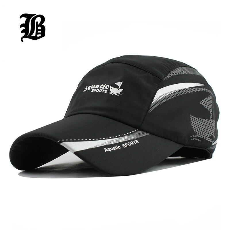 Prix pour [FLB] 2017 Unisexe casquettes de baseball D'été Snapback Respirant moto Femme Ajusté À Séchage Rapide Hommes femmes Chapeau Camping Raiders
