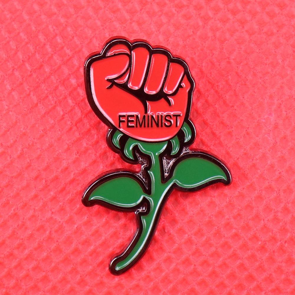 Ladies Girl Power Tshirt Or VEST Power Rose Feminist LGBT