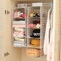 Caso durável porta bolsos organizadores do armário de moda bolsas sacos de acabamento pendurado organizador pendurar saco de armazenamento multicolor