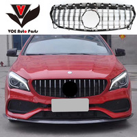 W117 GT Style ABS Silver Car Front Racing Grill Grille for Mercedes Benz CLA180 CLA200 CLA220 CLA250 CLA260 2013 2018|Racing Grills|Automobiles & Motorcycles -