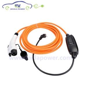 Image 2 - DUOSIDA Type 1 J1772 Plug EVSE 5M 10Meter 16Amp Level 2 EV Charger With EU Schuko