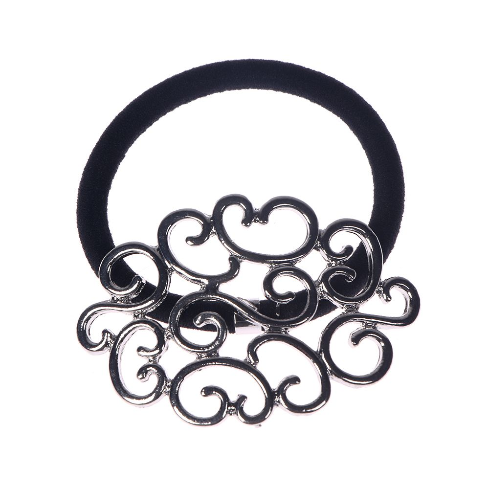 1Pc Women Elastic Hair Ties Band Ropes Ring Ponytail Holder Accessories Elastic Hair Rope For Hair Styling Tool Braider