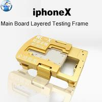 WL iSocket Jig for iPhone X PCB Motherboard Test Holder Fast Folded Two Halves Logic Board Testing Fixture Without Disassembly