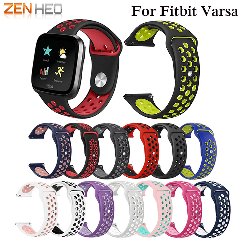 Soft Silicone Replacement Sport Wristband Watch Band Strap For Fitbit Versa Bracelet Wrist Watchband Colorful Band New Arrival