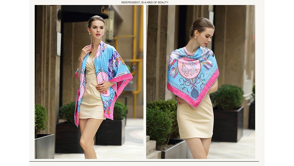 Silk Printed Bandanas (8)