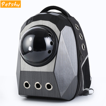 Petshy Luxury Pet Backpack Transport Space Capsule Kitty Puppy Chihuahua Outdoor Travel Bag Cave Small Cat Dog Carriers