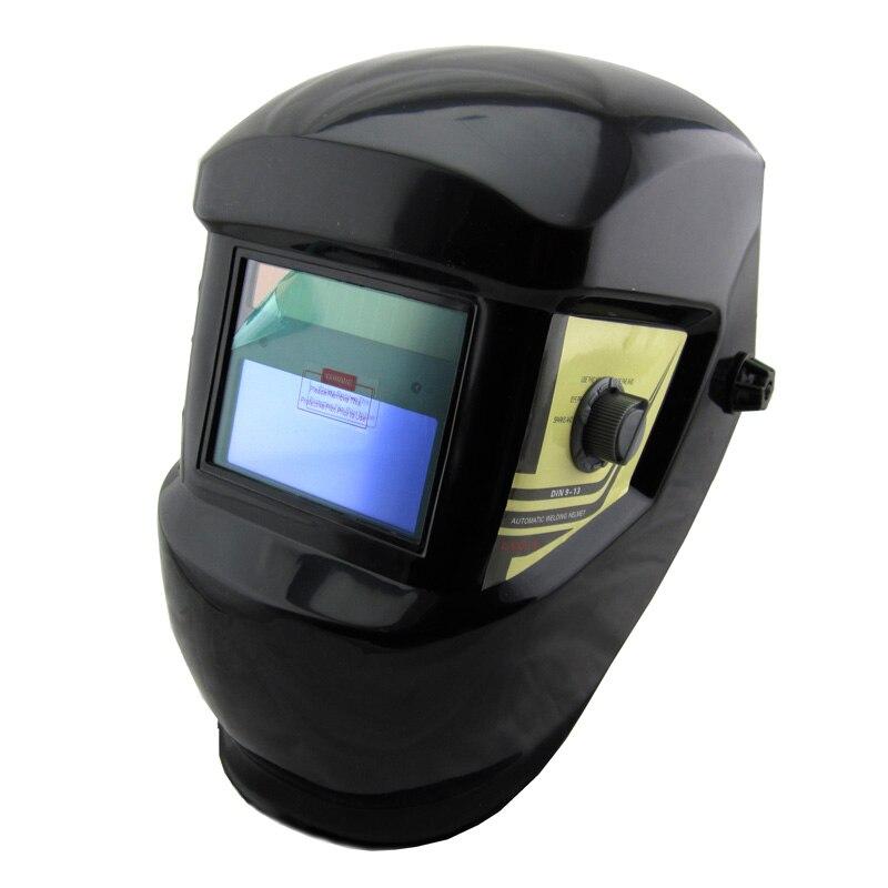 LI Battery solar Auto darkening welder helmet/face mask/Electric welding mask/cap for the welding machine and plasma cutter стоимость