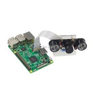 Image 3 - Raspberry Pi caméra focale, Vision nocturne à infrarouge, réglable, Noir, Module de caméra pour Raspberry Pi 3 modèle B 4B zero w support 7 en 1