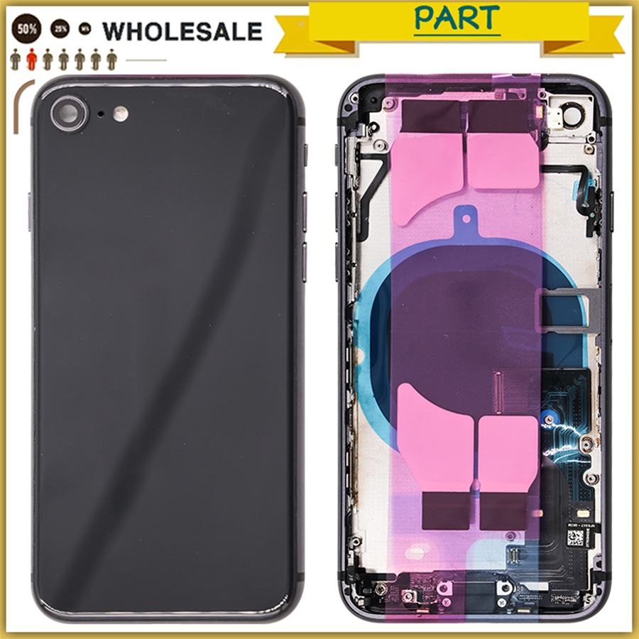 New 8G Full Housing Case For iphone 8 8G Battery Back Cover Door Housing Chassis Frame With Flex Cable + sim cardNew 8G Full Housing Case For iphone 8 8G Battery Back Cover Door Housing Chassis Frame With Flex Cable + sim card